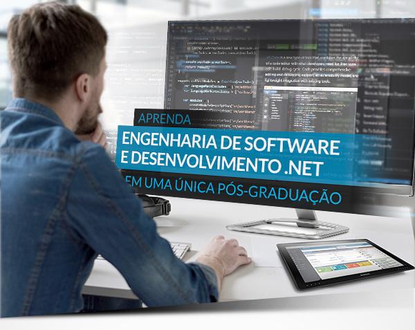 Aprenda Engenharia de Software e Desenvolvimento .NET em uma única Pós-Graduação