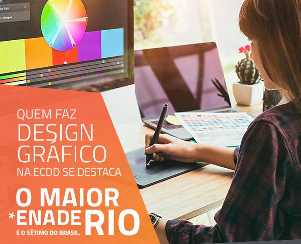 A graduação é focada no design digital. É muito prática e ensina as ferramentas que as empresas usam rotineiramente. Assim, forma profissionais que são disputados pelo mercado.