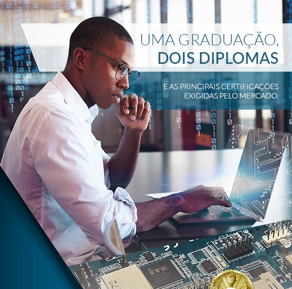 Uma graduação, dois diplomas e as principais certificações exigidas pelo mercado