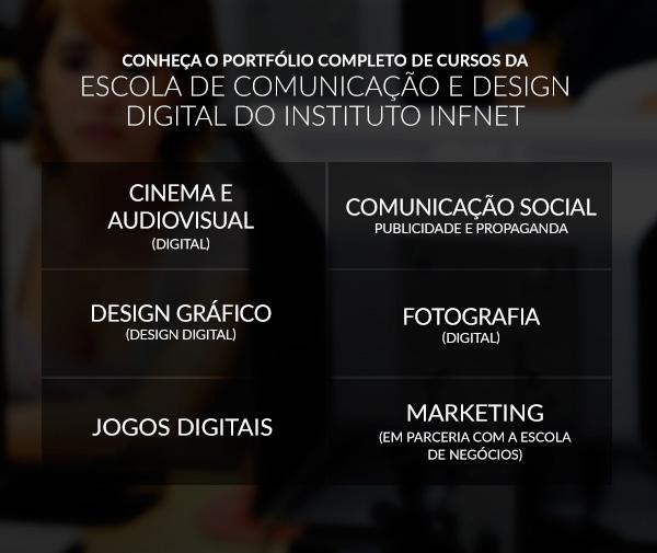 CONHEÇA OUTROS CURSOS DO PORTFÓLIO DA ESCOLA