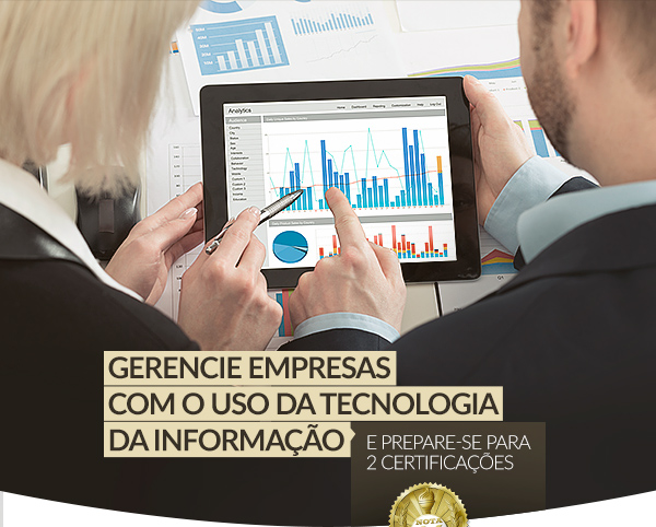 Gerencie Empresas com o uso da Tecnologia da Informação