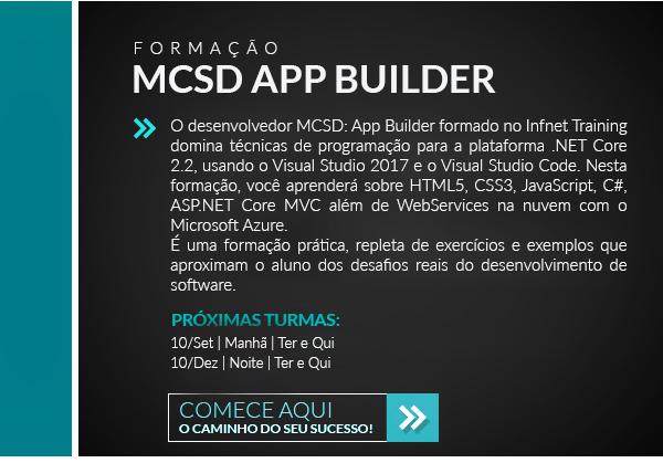 formação MCSD APP BUILDER