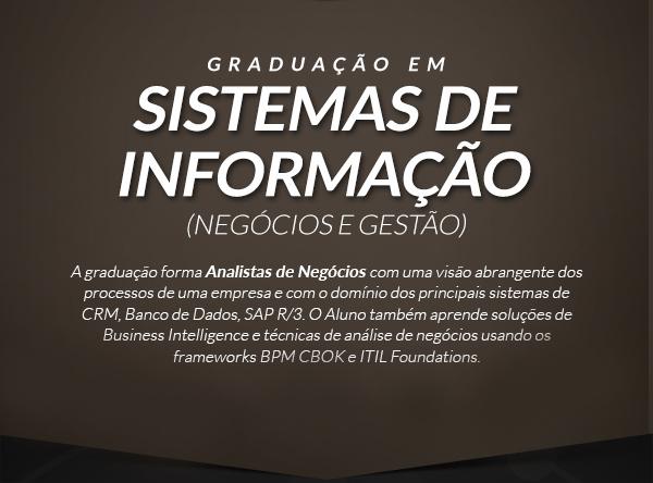 Graduação em sistemas de informação