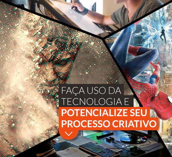 Faça uso da tecnologia e potencialize seu processo criativo.